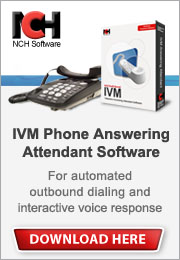 IVM auto attendant, ivr, and outbound dialing software